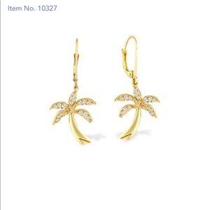 Na huko palm earrings